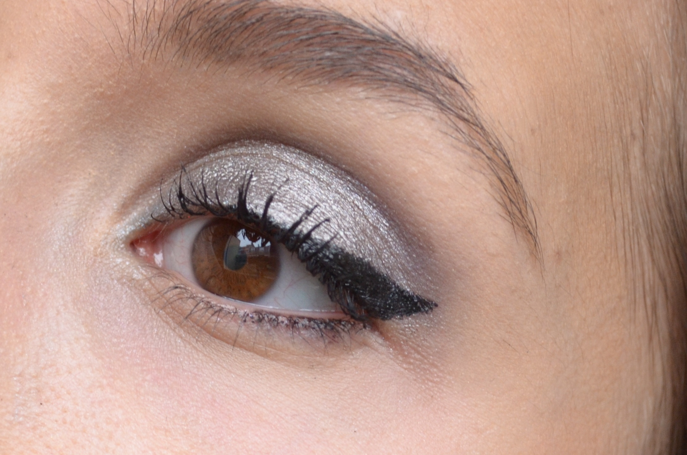 Favori Maquillage gris anthracite avec ma palette homemade QP89
