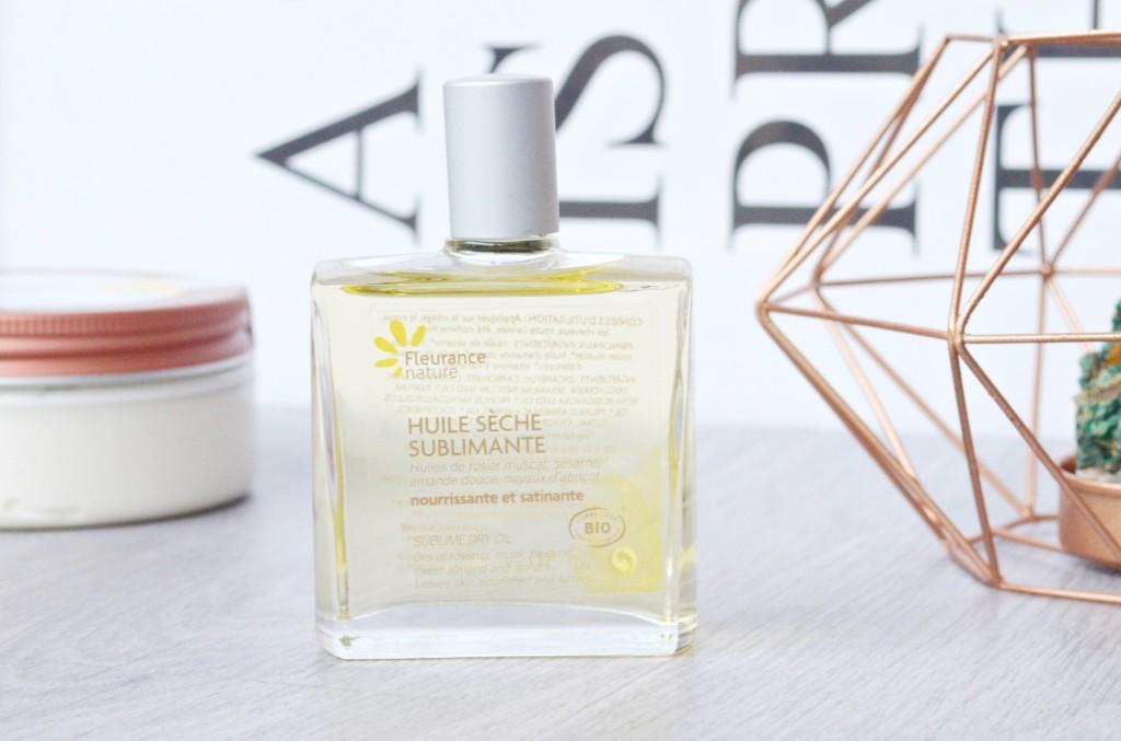 huile sèche fleurance nature