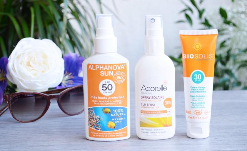 Battle de crèmes solaires bio : 3 produits au banc d'essai