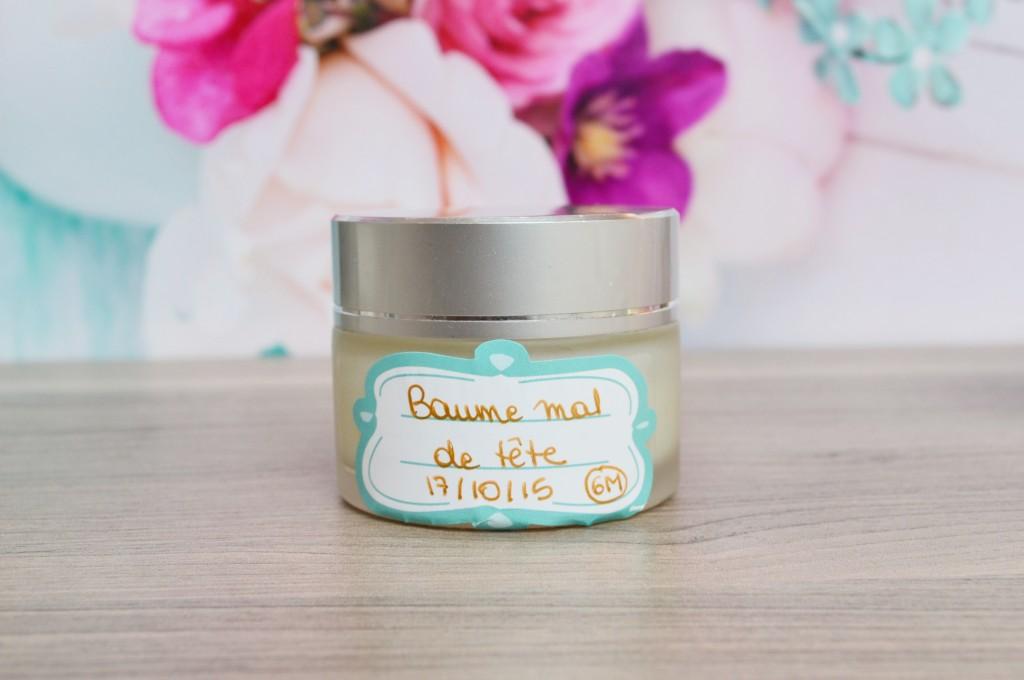 recette baume anti migraine naturel
