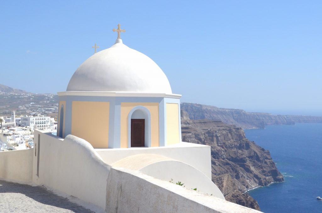 santorin cyclades grece