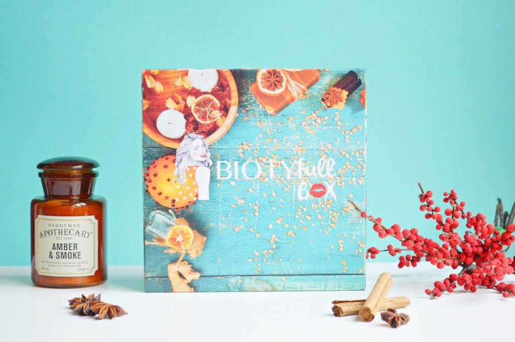 Biotyfull box de novembre : box beauté bio sensorielle