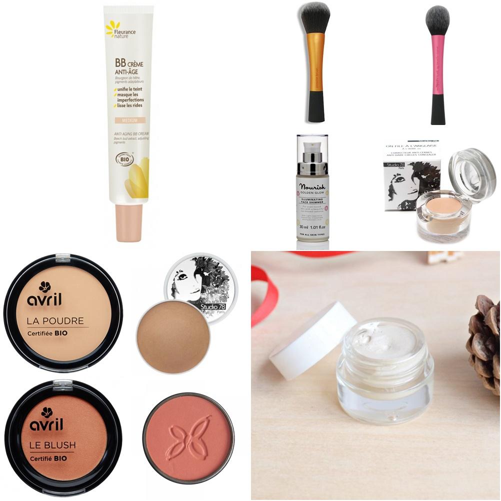 Mes essentiels maquillage bio et naturel