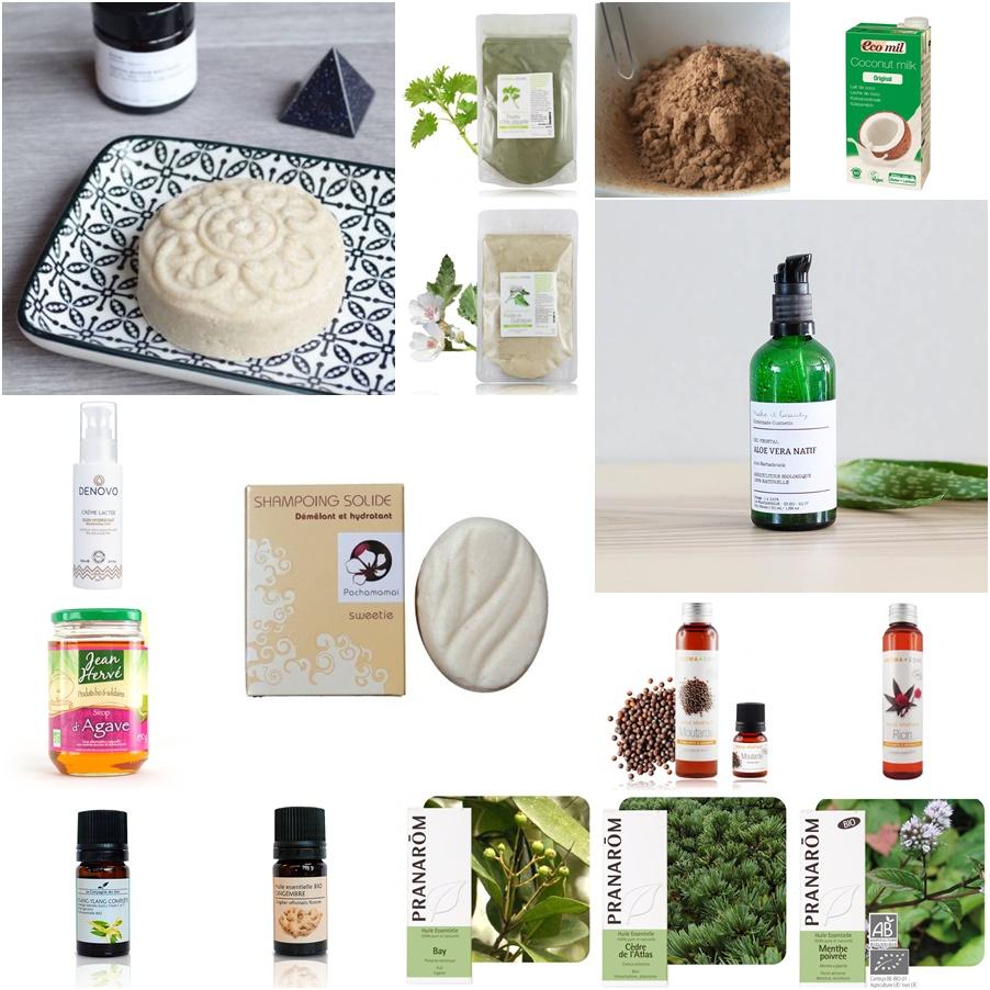 Mes essentiels en soins cheveux bio et naturel