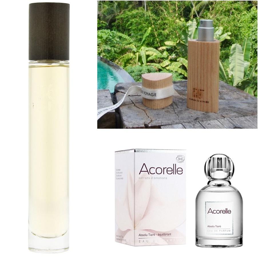 Mes essentiels en parfums bio et naturels