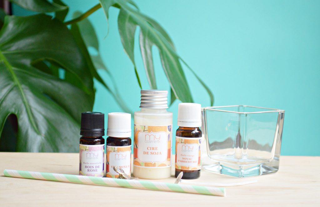 Bougie Huile Essentielle Maison bougie de massage à l'huile essentielle de bois de hô | peppermint