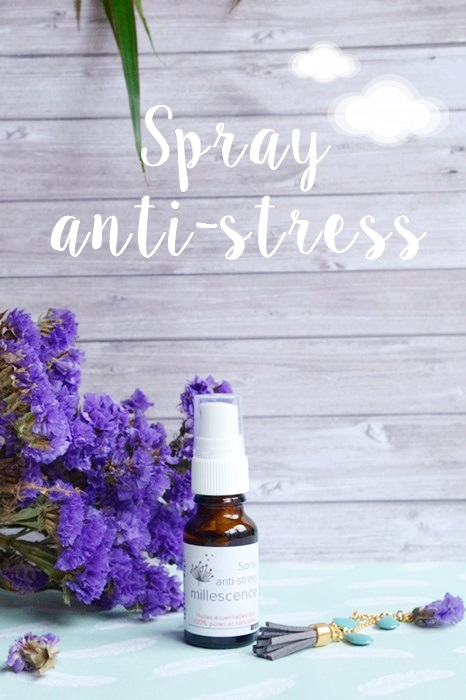 Spray aux huiles essentielles relaxantes Millescence