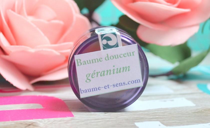Baume géranium baume et sens
