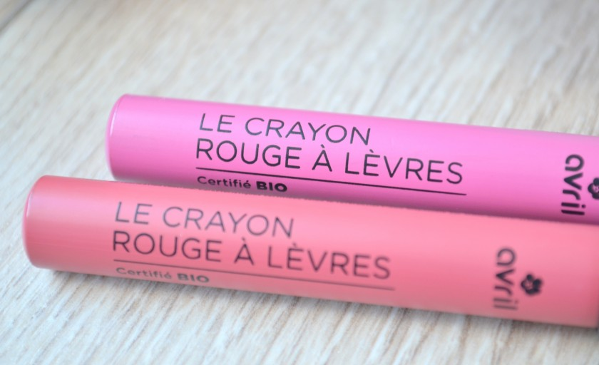 Test des crayons à lèvres Avril