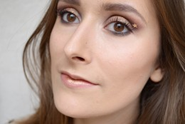 Maquillage bronze pour le Monday Shadow Challenge