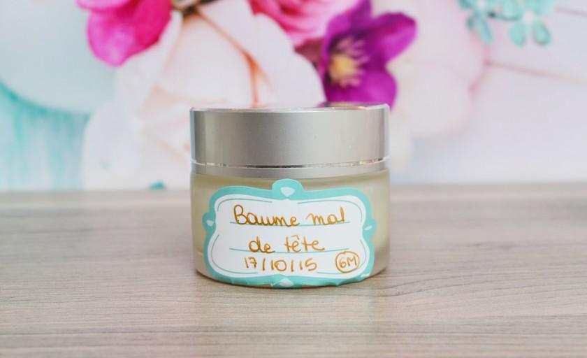Recette d'un baume anti-migraine naturel