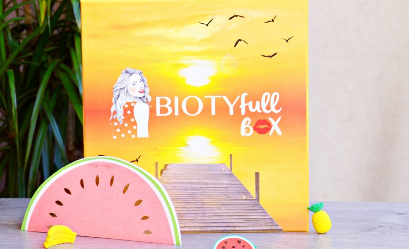 La Biotyfull box d'août nous emmène en voyage