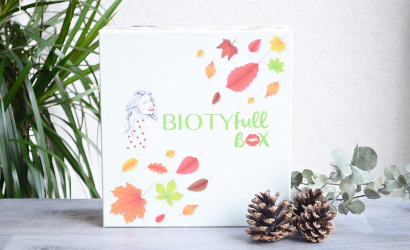 La Biotyfull box de septembre annonce l'arrivée de l'automne
