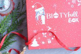 C'est noël avant l'heure avec la Biotyfull box de décembre