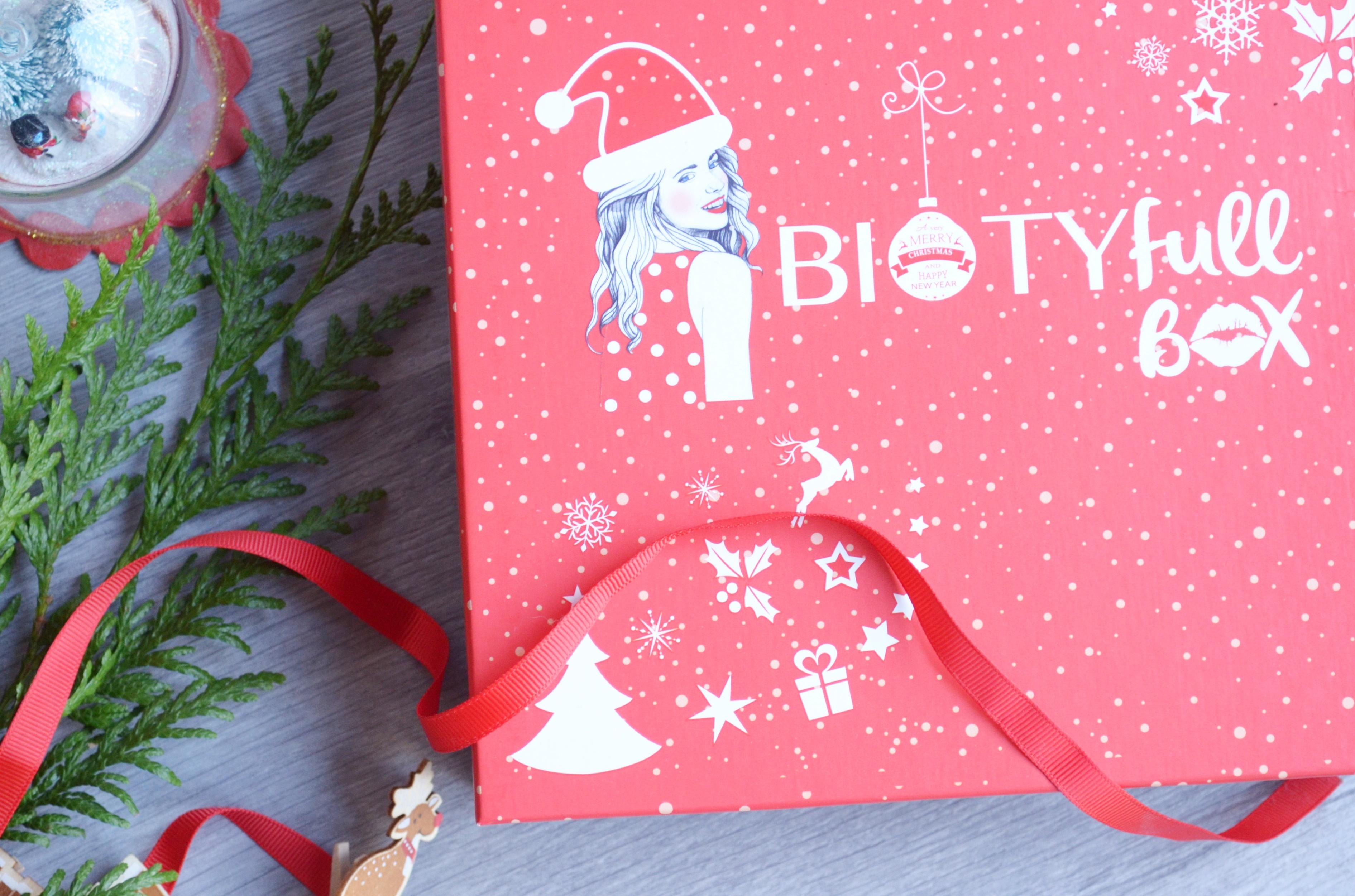 Biotyfull box de décembre : avis et analyse de la composition des produits