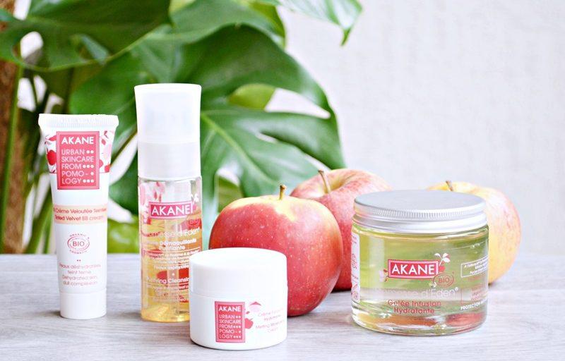 Akane ou les soins bios qui sentent bon la pomme