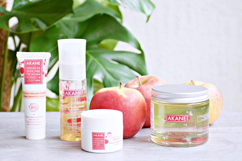 Les soins bio à la pomme de chez Akane