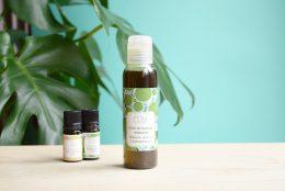 Huile relaxante à l'huile essentielle de romarin