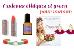 Idées cadeaux pour une fête des mères green et éthique