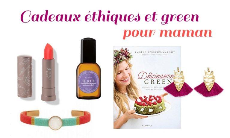 Idées de cadeaux éthiques et green pour la fête des mères