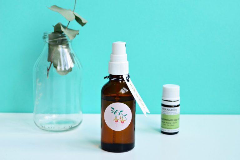 Recette sensorielle d'huile pour le corps à l'huile essentielle de néroli