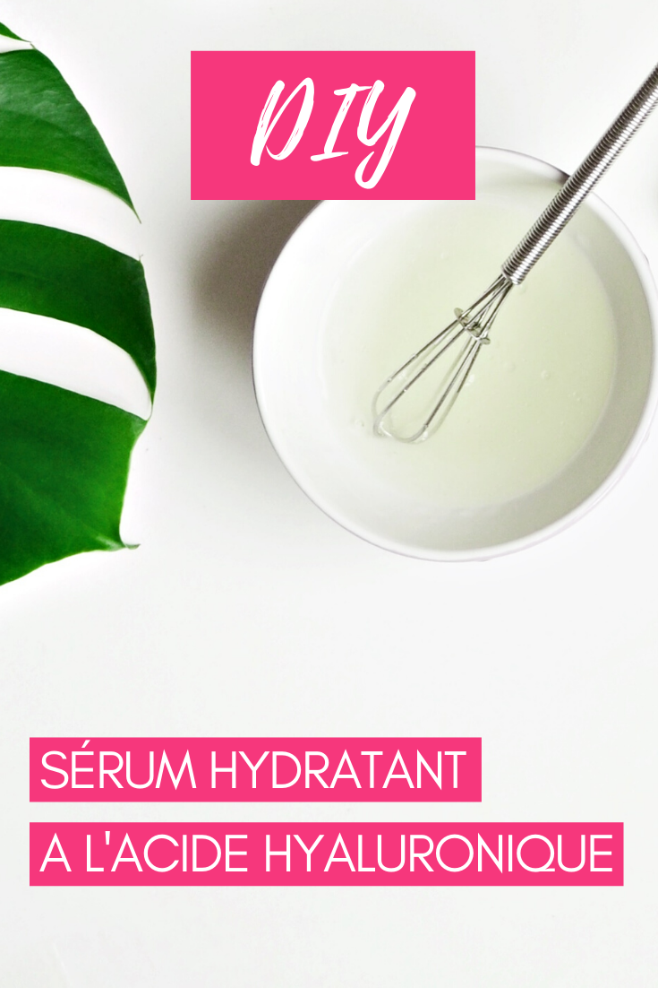 Sérum hydratant visage acide hyaluronique