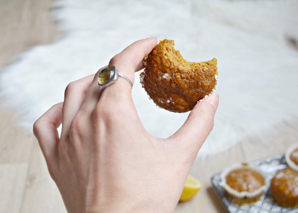 Muffins à la citrouille et aux épices vegan