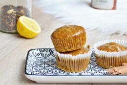 Muffins à la citrouille et aux épices ultra moelleux et vegan