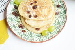 Pancakes moelleux au sirop d'érable (vegan)