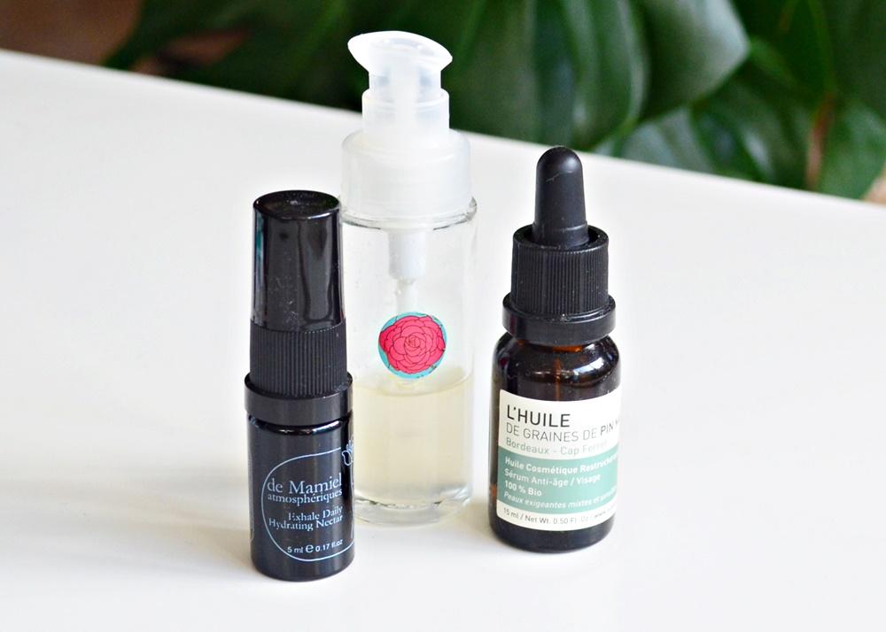 routine soin visage, corps et cheveux bio de l'automne