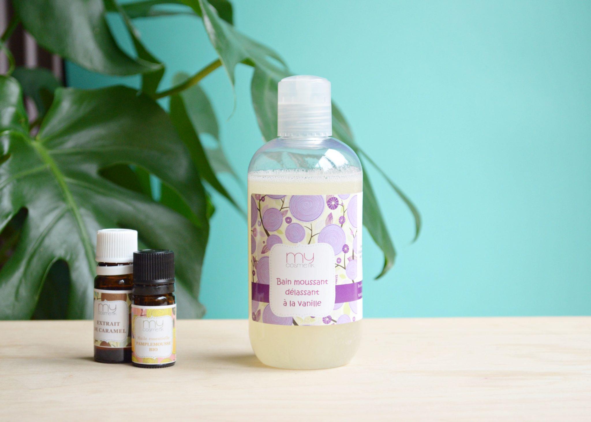 Bain moussant à la vanille DIY