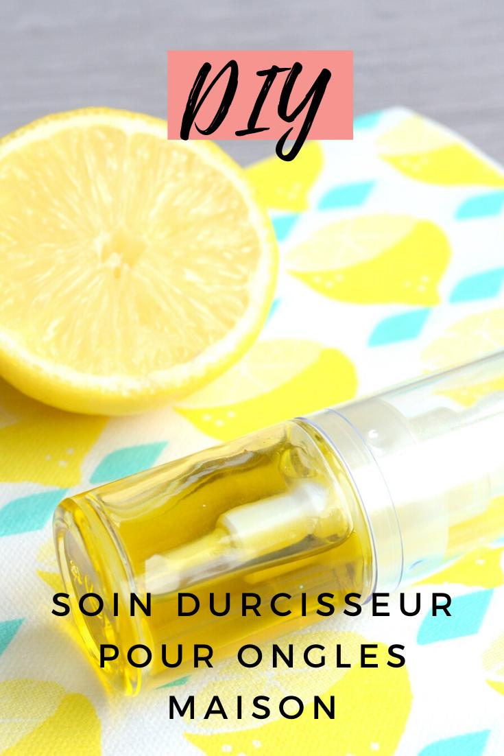 Soin des ongles maison au citron