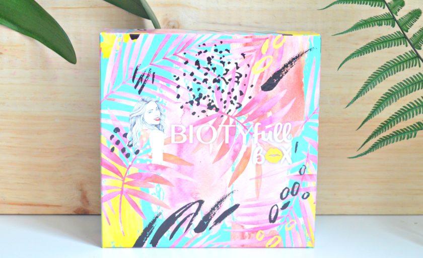 Un peu d'été avec la Biotyfull box de juin