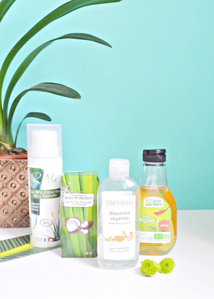 Hydratants naturels pour les cheveux