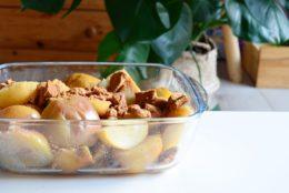 Pommes au four au spéculoos pour un goûter d'automne