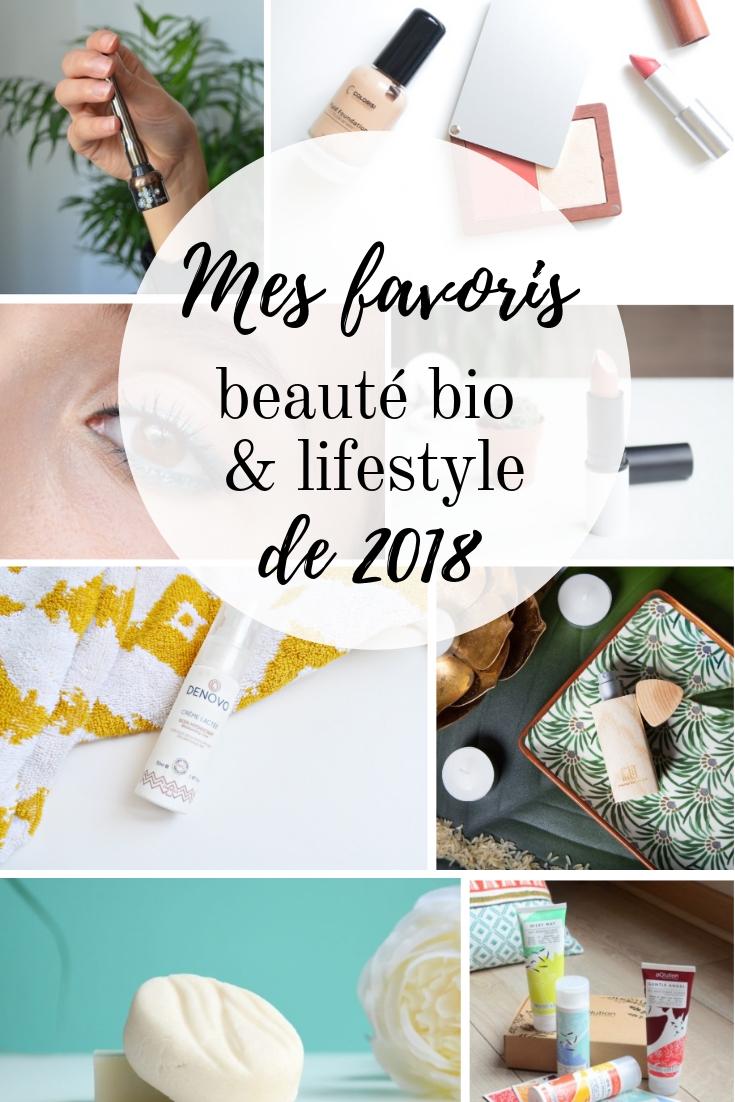 Mes favoris beauté bio et lifestyle de 2018