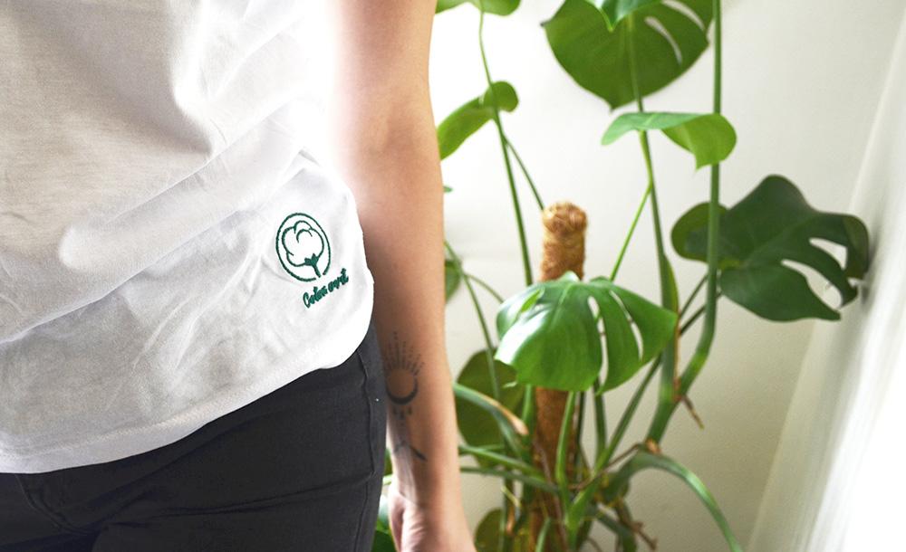 T-shirt en coton bio Coton vert