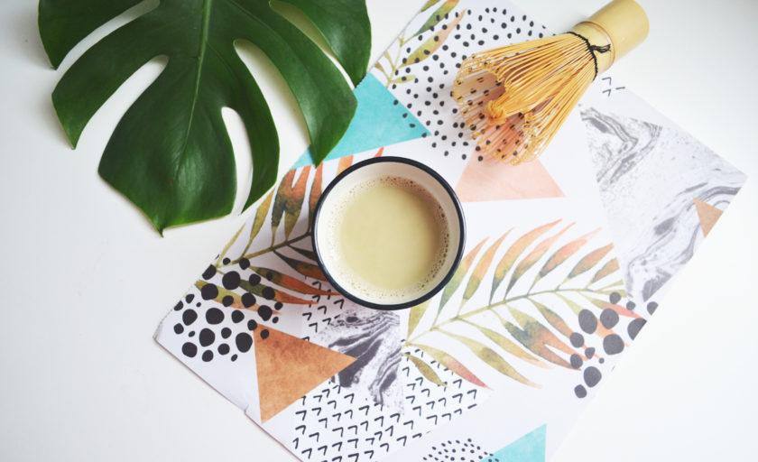 Les bienfaits du thé matcha & recette de matcha latte vanille
