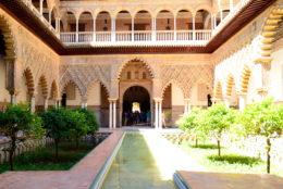 Mon coup de cœur pour le magnifique Alcazar de Séville