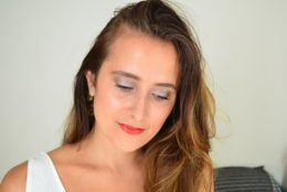 Un maquillage green et glam avec My Bio Time