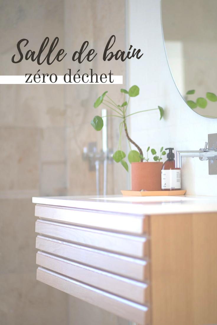 astuces salle de bain zéro déchet