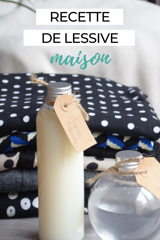 Recette de lessive maison au savon de Marseille