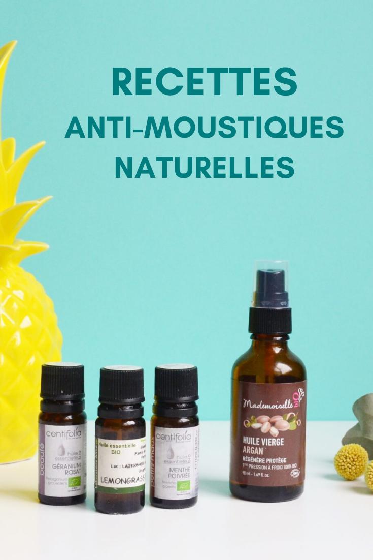 Recettes anti moustiques naturelles